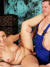 This mama loves her boy toy fresh and hard