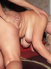 Mature chick Remy exposes her curves and big tits while a hunk pounds her snatch